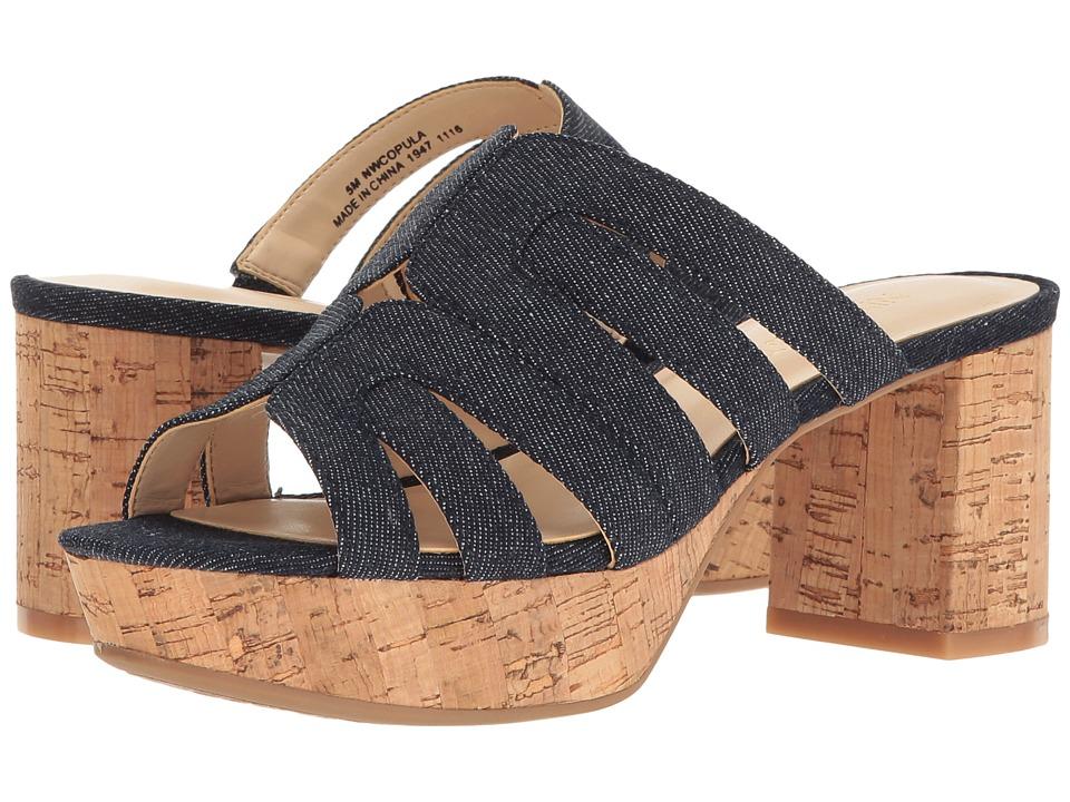 Nine West - Copula (Navy Denim) Womens Shoes