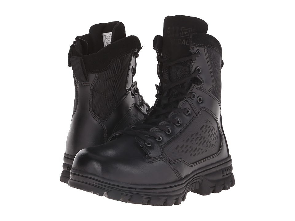 5.11 Tactical - Evo Side Zip 6 (Black) Mens Work Boots