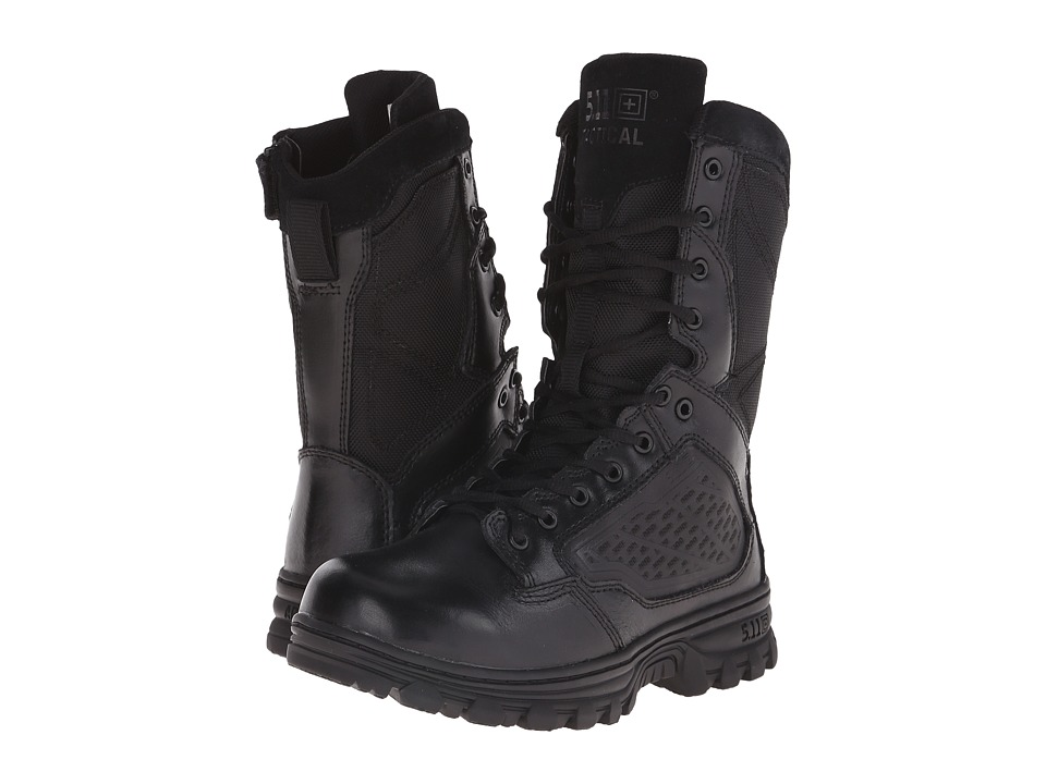 5.11 Tactical - Evo Side Zip 8 (Black) Mens Work Boots