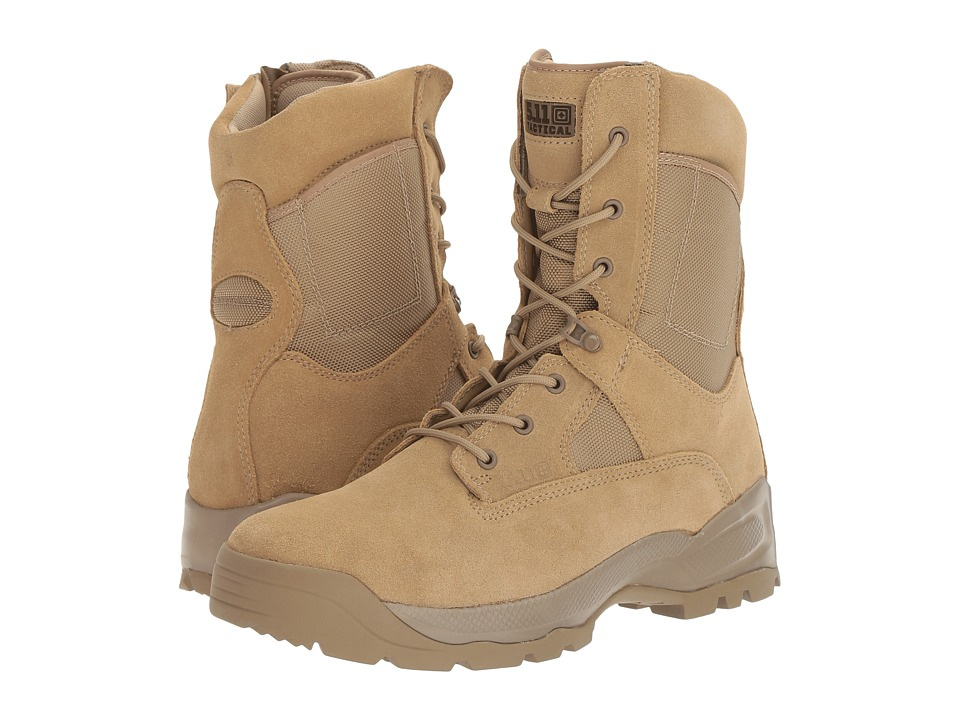 5.11 INC A.T.A.C 8 Coyote (Coyote) Men's Work Boots