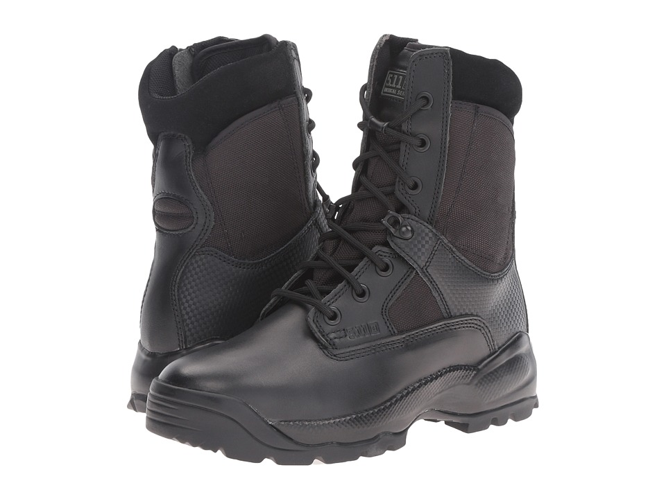 5.11 Tactical - A.T.A.C. 8 Side Zip (Black) Womens Work Boots