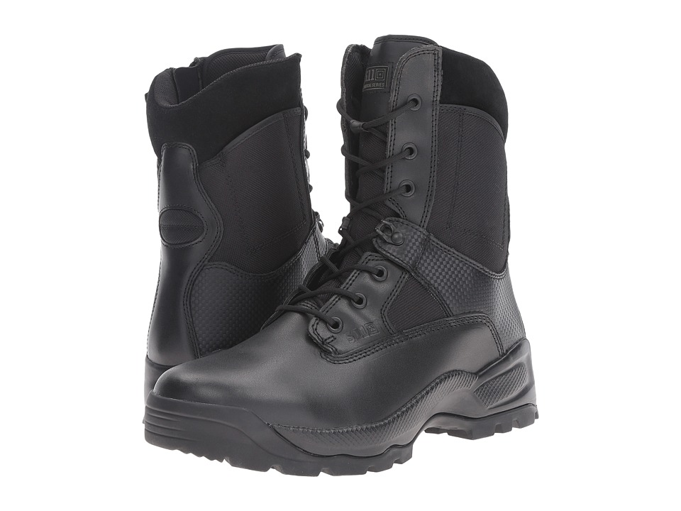 5.11 Tactical - A.T.A.C 8 Side Zip (Black) Mens Work Boots