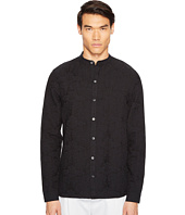 Matiere - Ethan Textured Linen-Blend Button Down