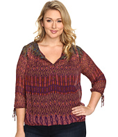 Lucky Brand - Plus Size Long Sleeve Blouse
