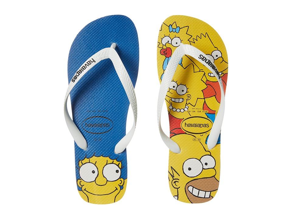 Havaianas Simpsons Flip-Flops (White) Men