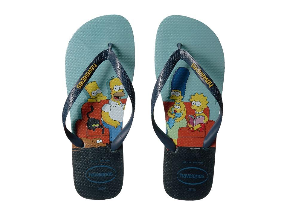 Havaianas Simpsons Flip-Flops (Blue) Men