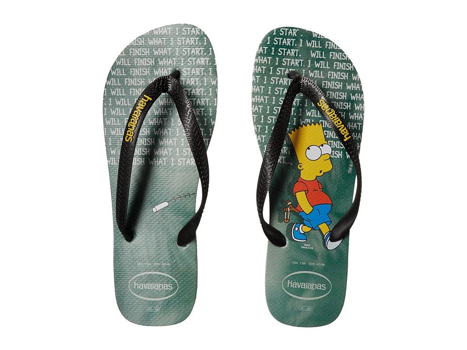Havaianas Simpsons Flip-Flops (Ice Grey) Men