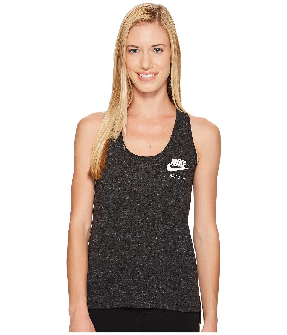 Nike Sportswear Gym Vintage Tank (Black/Sail) Women