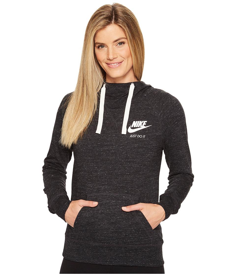 Nike Sportswear Pullover Hoodie (Black/Sail) Women