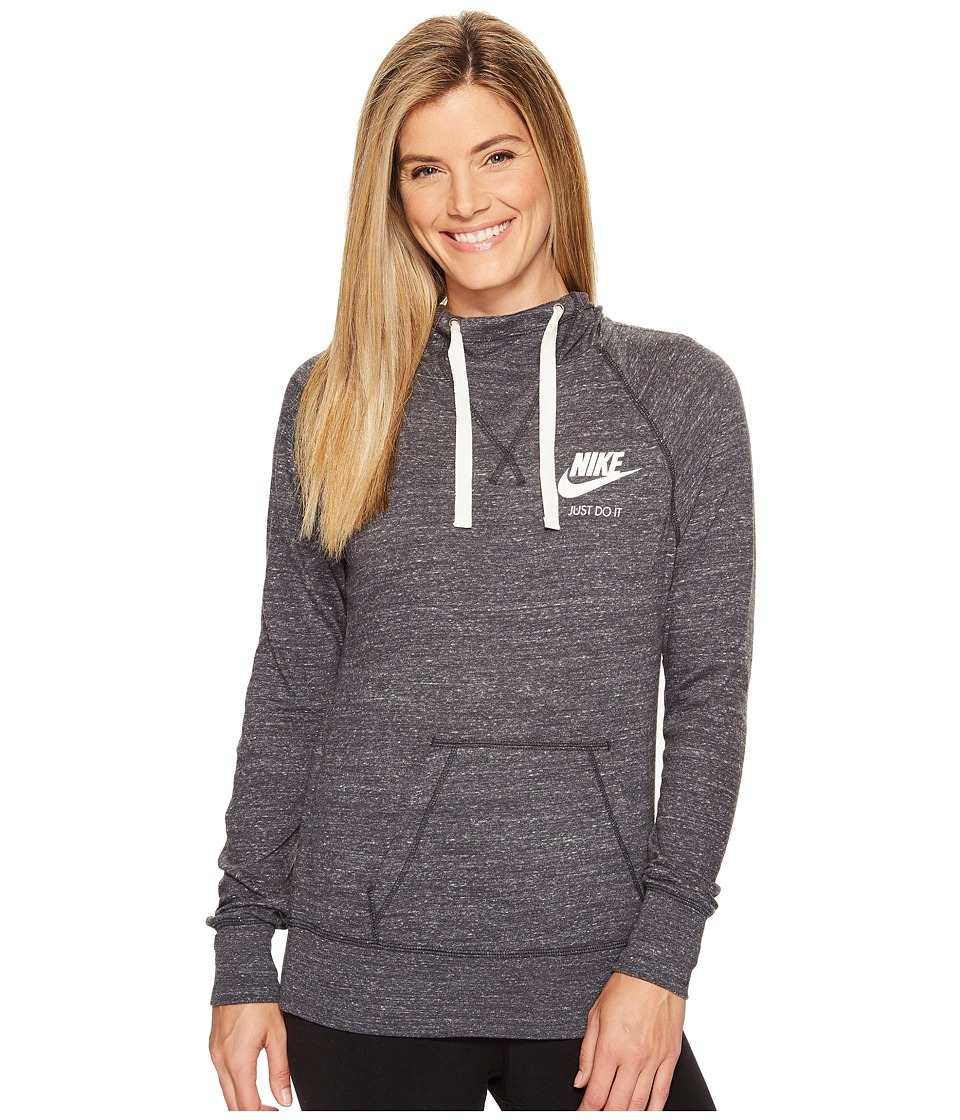 Nike Sportswear Pullover Hoodie (Anthracite/Sail) Women