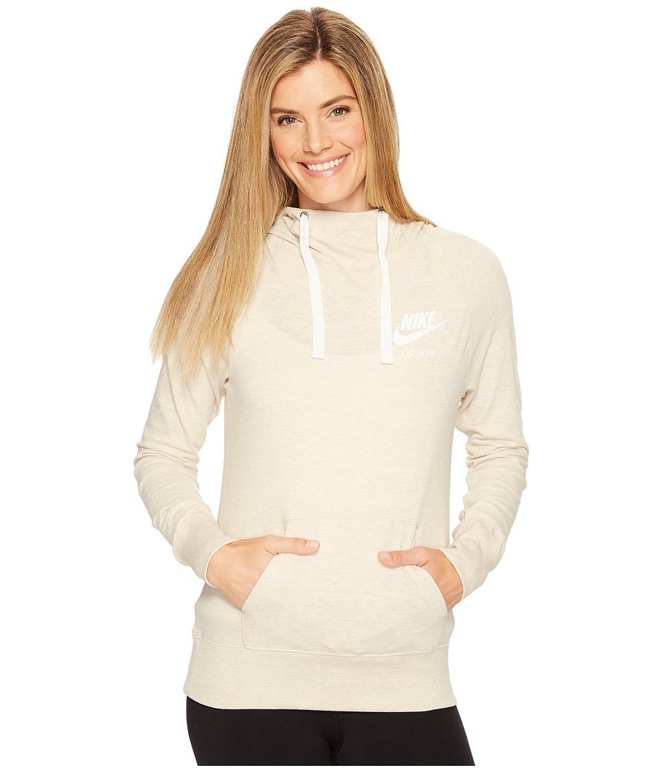 Nike Sportswear Pullover Hoodie (Oatmeal/Sail) Women