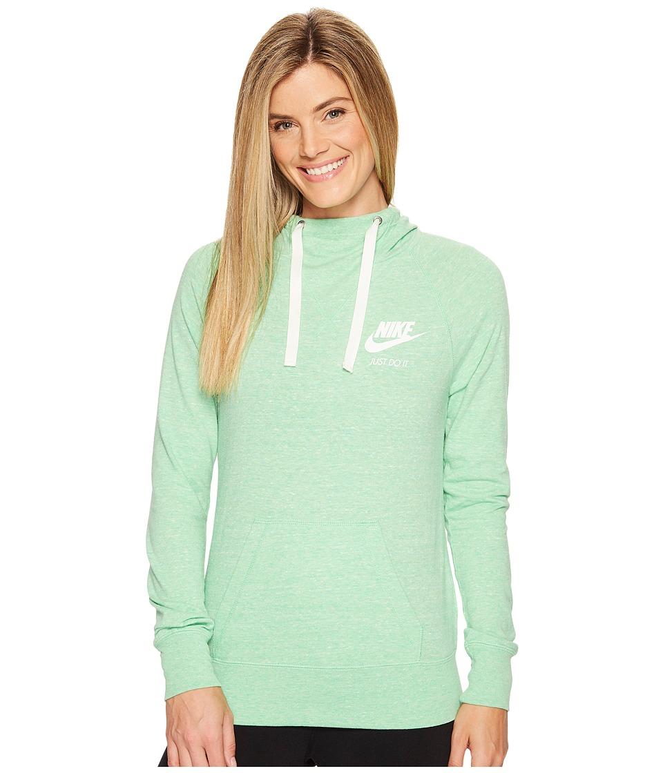Nike Sportswear Pullover Hoodie (Tourmaline/Sail) Women