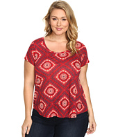 Lucky Brand - Plus Size Tile Tee