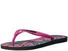 Slim Floral Flip Flop
