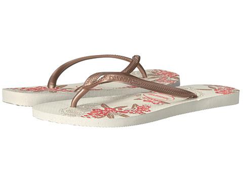 Havaianas Slim Organic Flip Flops - Rose Gold