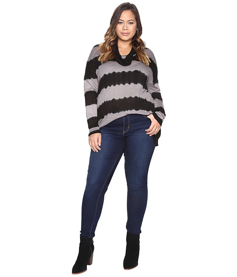 Lucky Brand Plus Size Cowl Neck Tunic