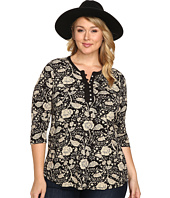 Lucky Brand - Plus Size Floral Top