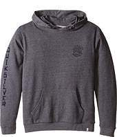 Quiksilver Kids - Jungle Forest Hood Fleece Top (Big Kids)