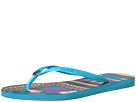 Slim Thematic Flip Flops