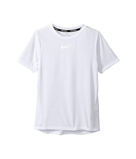 Nike Kids Dry Short Sleeve Running Top (Little Kids/Big Kids)