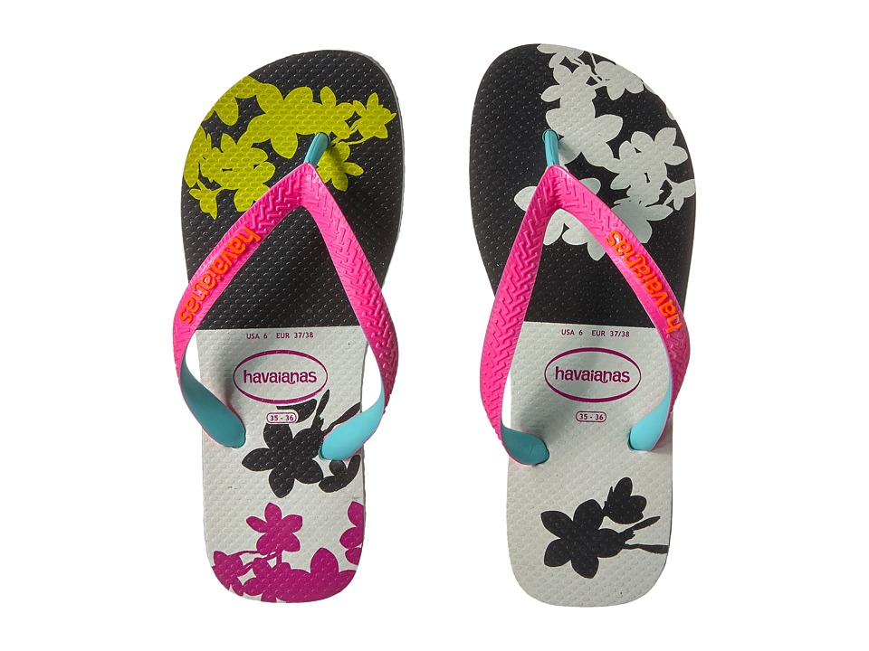 Havaianas Top Fashion Flip-Flops (White) Women