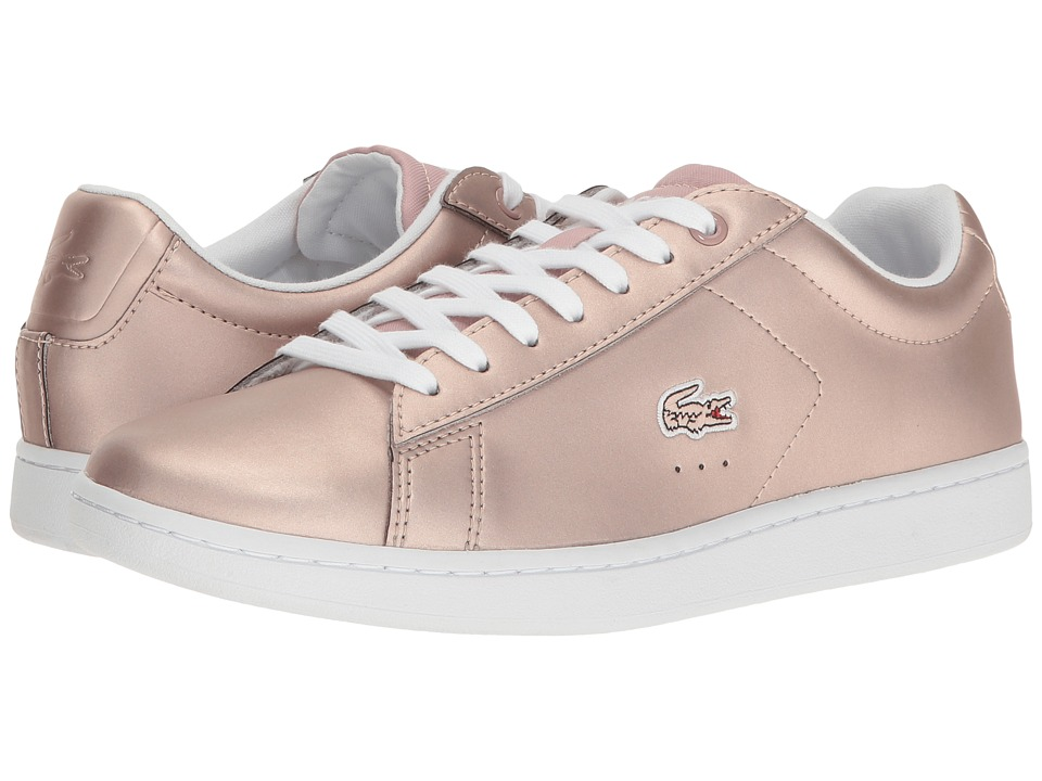 Lacoste Carnaby Evo 117 3 (Light Pink) Women