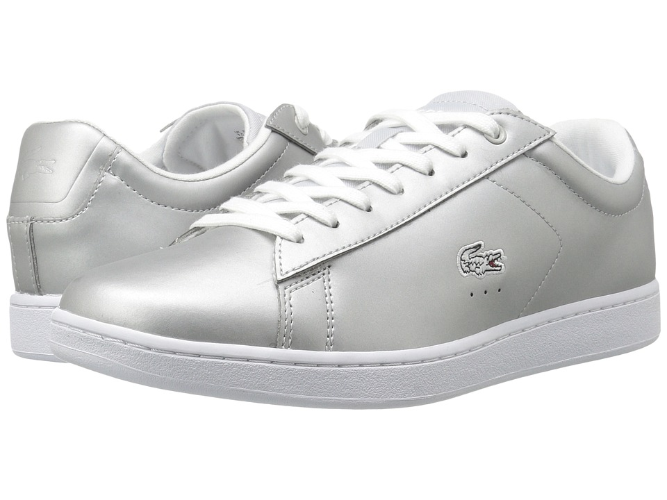 Lacoste Carnaby Evo 117 3 (Light Grey) Women