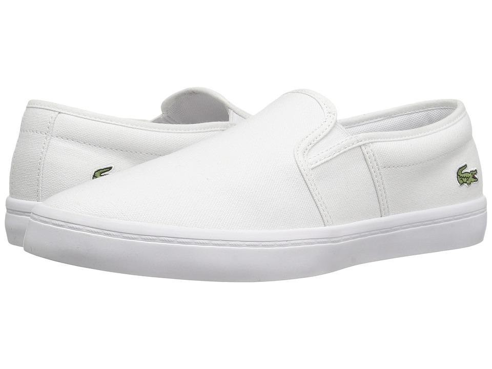 Lacoste Gazon BL 2 Canvas (White) Women