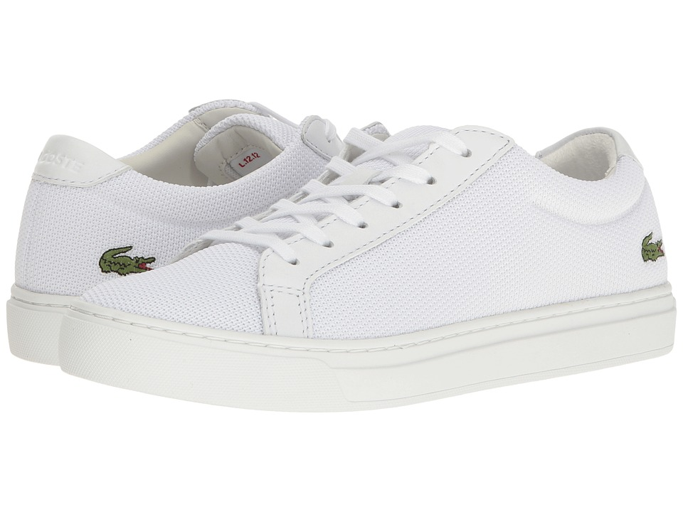 Lacoste - L.12.12 BL 2 (White) Womens Shoes