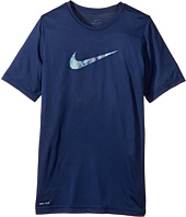 Nike Kids - Dry Carbon Swoosh Tee (Little Kids/Big Kids)