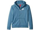 Nike Kids - Sportswear Full-Zip Lightweight Ultra Wash Hoodie (Little Kids/Big Kids)