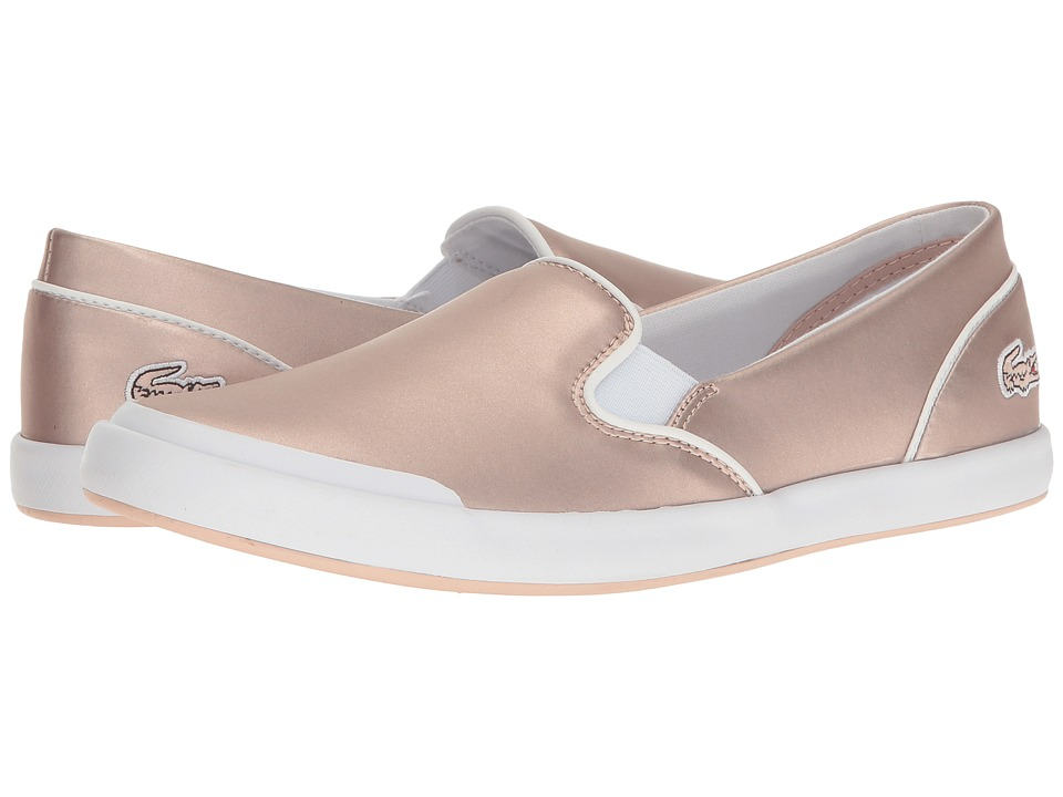 Lacoste Lancelle Slip-On 117 2 (Light Pink) Women