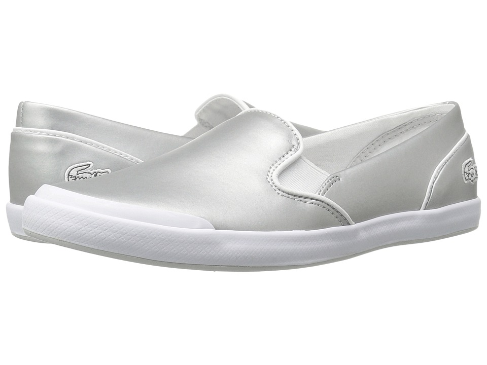 Lacoste Lancelle Slip-On 117 2 (Light Grey) Women