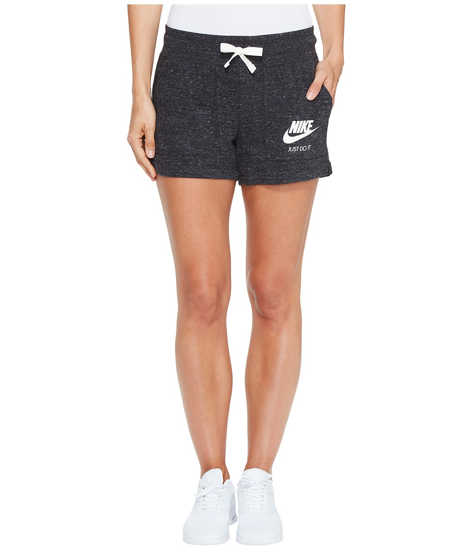 Nike Sportswear Gym Vintage Short (Black/Sail) Women