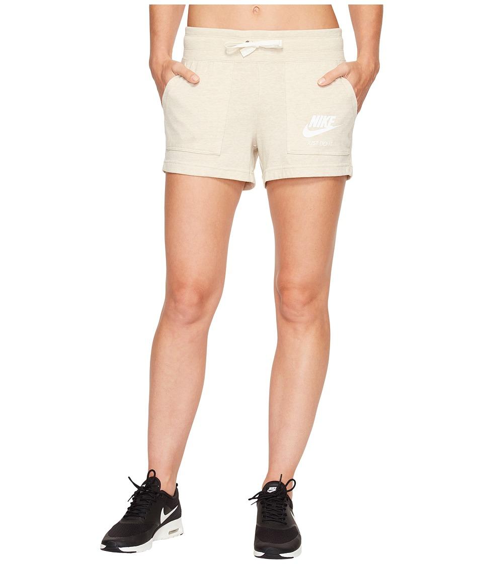 Nike Sportswear Gym Vintage Short (Oatmeal/Sail) Women