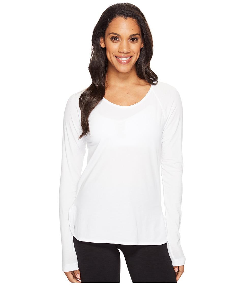 Lole Kendra Long Sleeve Top (White) Women