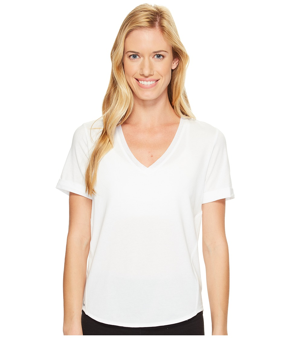 Lole Kesha Short Sleeve Top (White) Women
