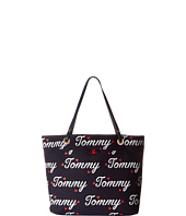 Tommy Hilfiger - TH Grommet II Large Tote Tommy Print
