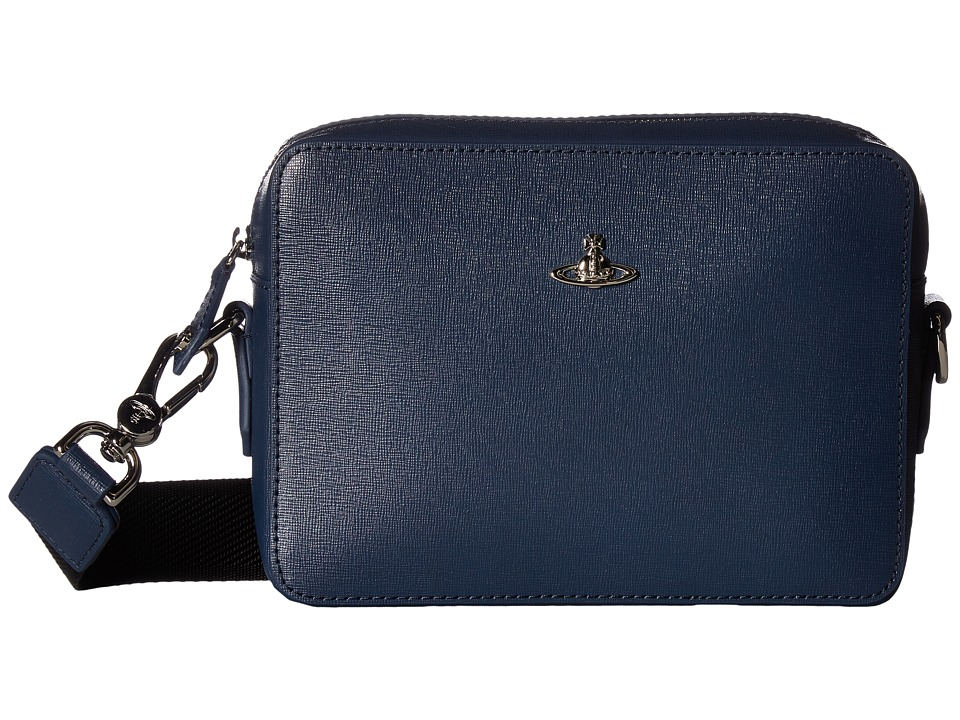 Vivienne Westwood Kent Camera Bag (Blue) Messenger Bags