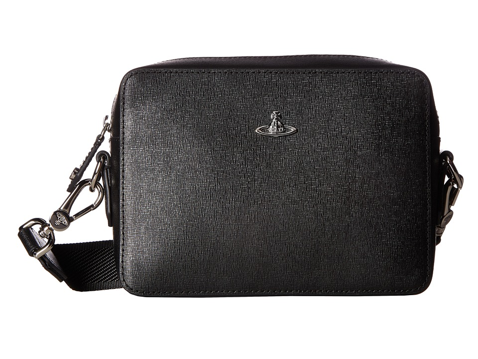 Vivienne Westwood Kent Camera Bag (Black) Messenger Bags