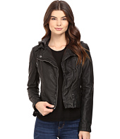 Free People - Vegan Hooded Moto Jacket