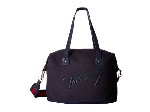 tommy hilfiger tommy script weekender canvas at. Black Bedroom Furniture Sets. Home Design Ideas