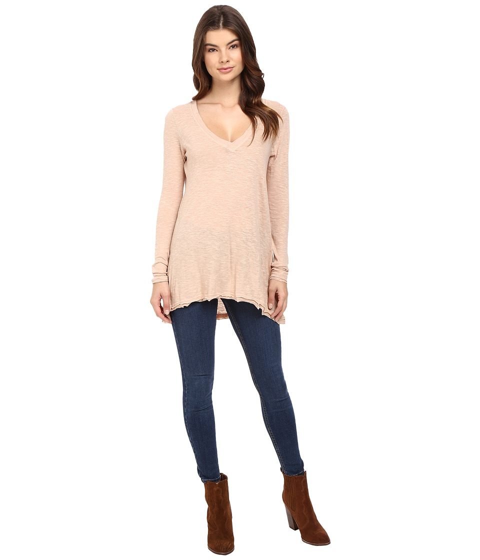 Free People Anna Tee (Pink) Women