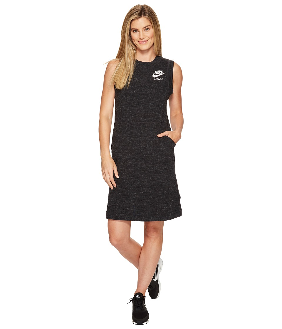 Nike Sportswear Gym Vintage Dress (Black/Sail) Women