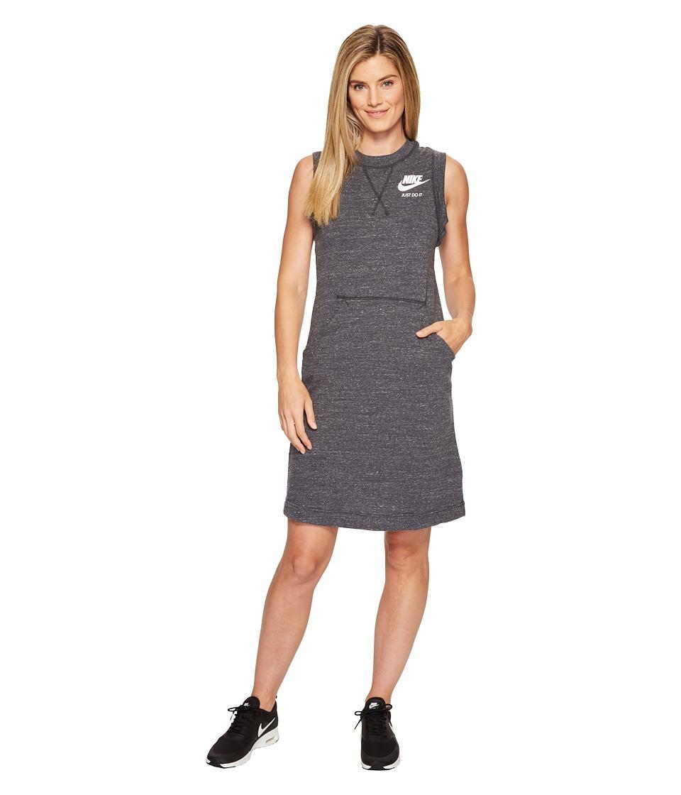 Nike Sportswear Gym Vintage Dress (Anthracite/Sail) Women