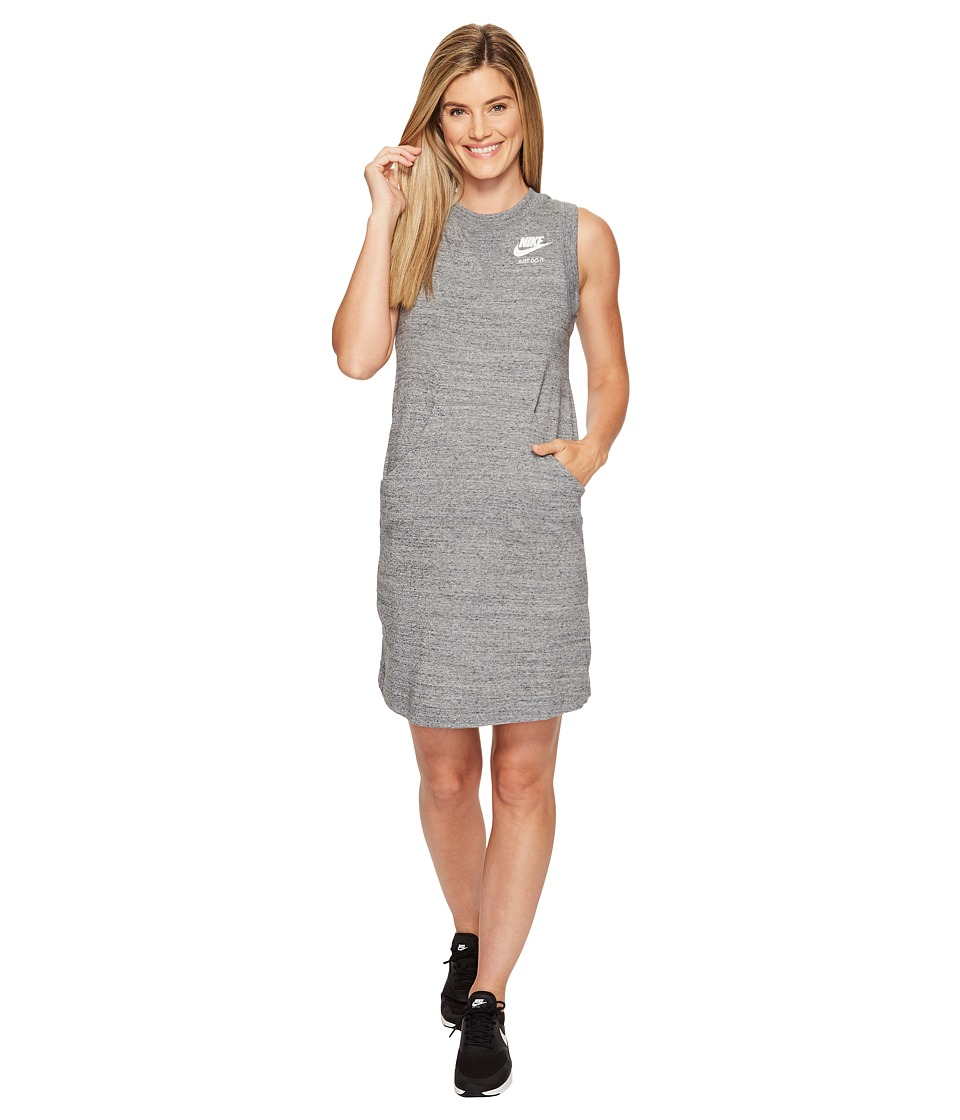 Nike Sportswear Gym Vintage Dress (Carbon Heather/Sail) Women