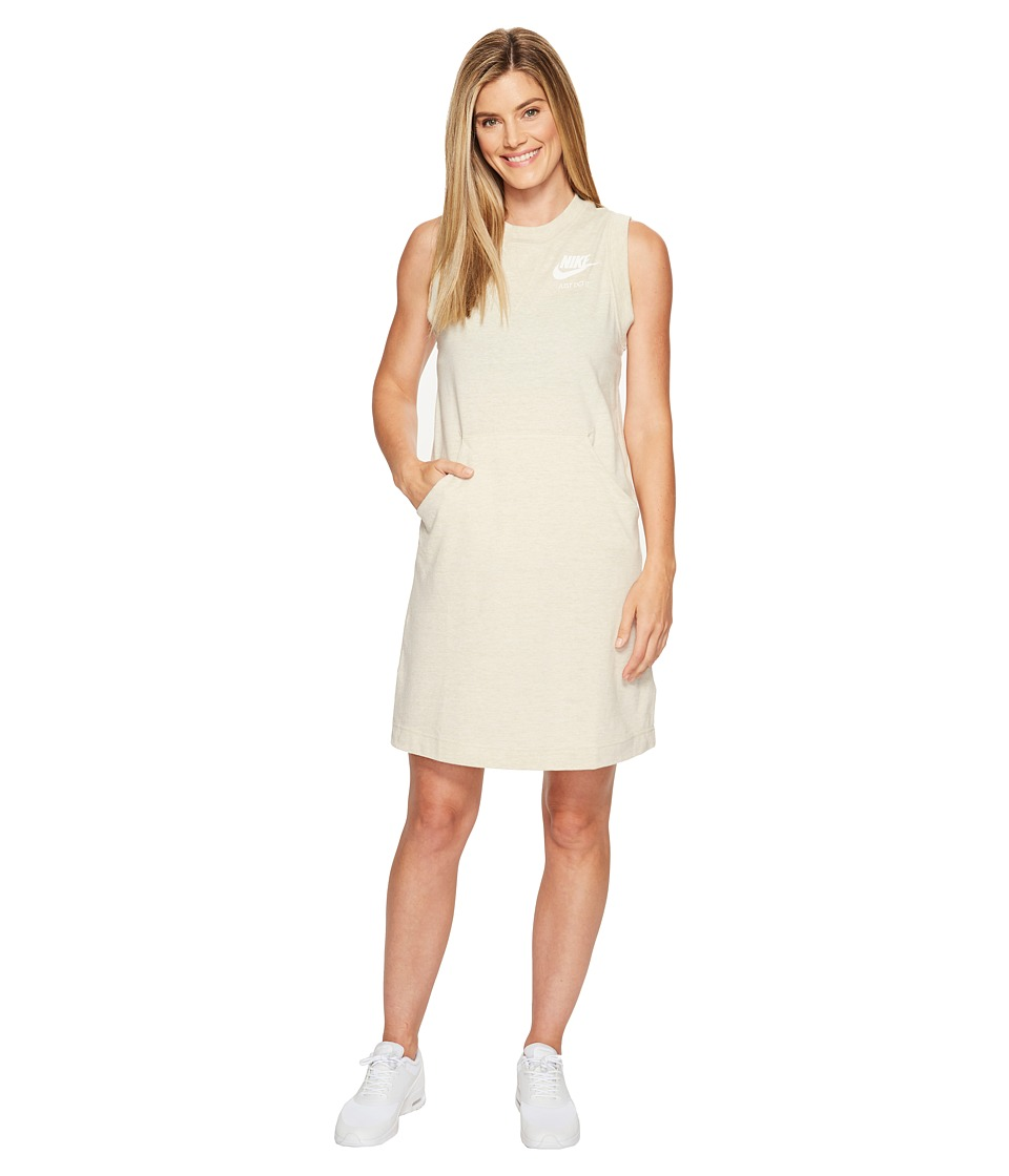 Nike Sportswear Gym Vintage Dress (Oatmeal/Sail) Women