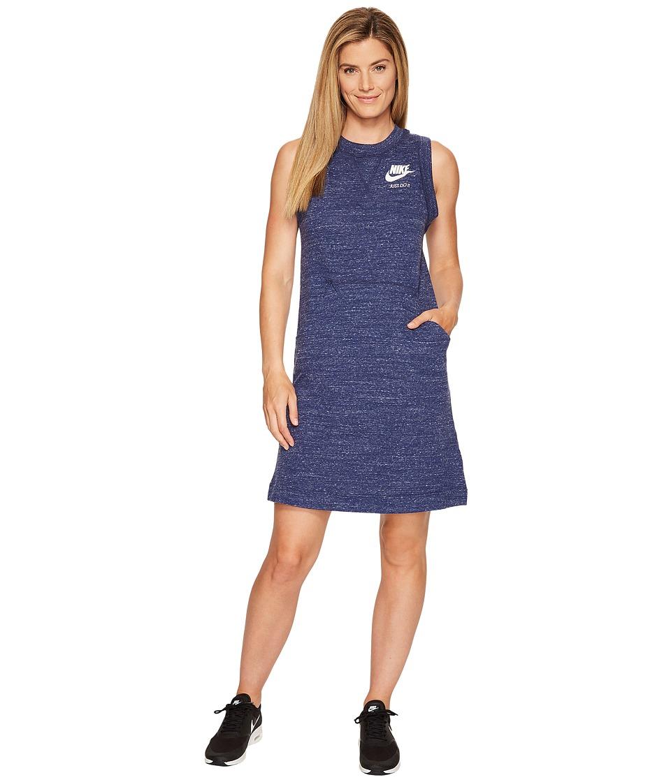 Nike Sportswear Gym Vintage Dress (Binary Blue/Sail) Women