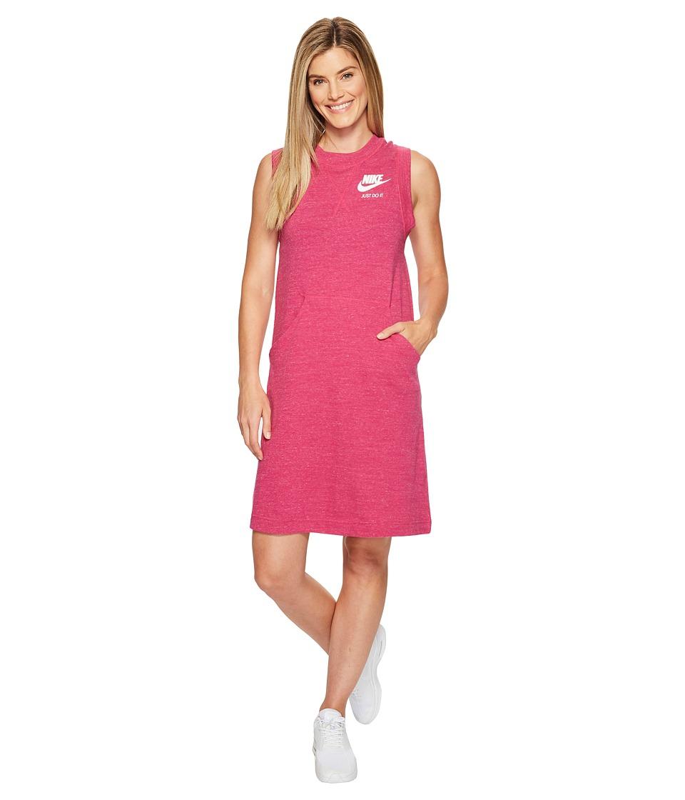 Nike Sportswear Gym Vintage Dress (Sport Fuchsia/Sail) Women