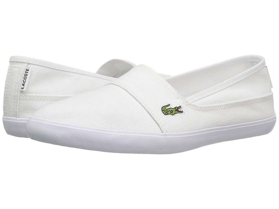 Lacoste Marice BL 1 (White) Women's Shoes